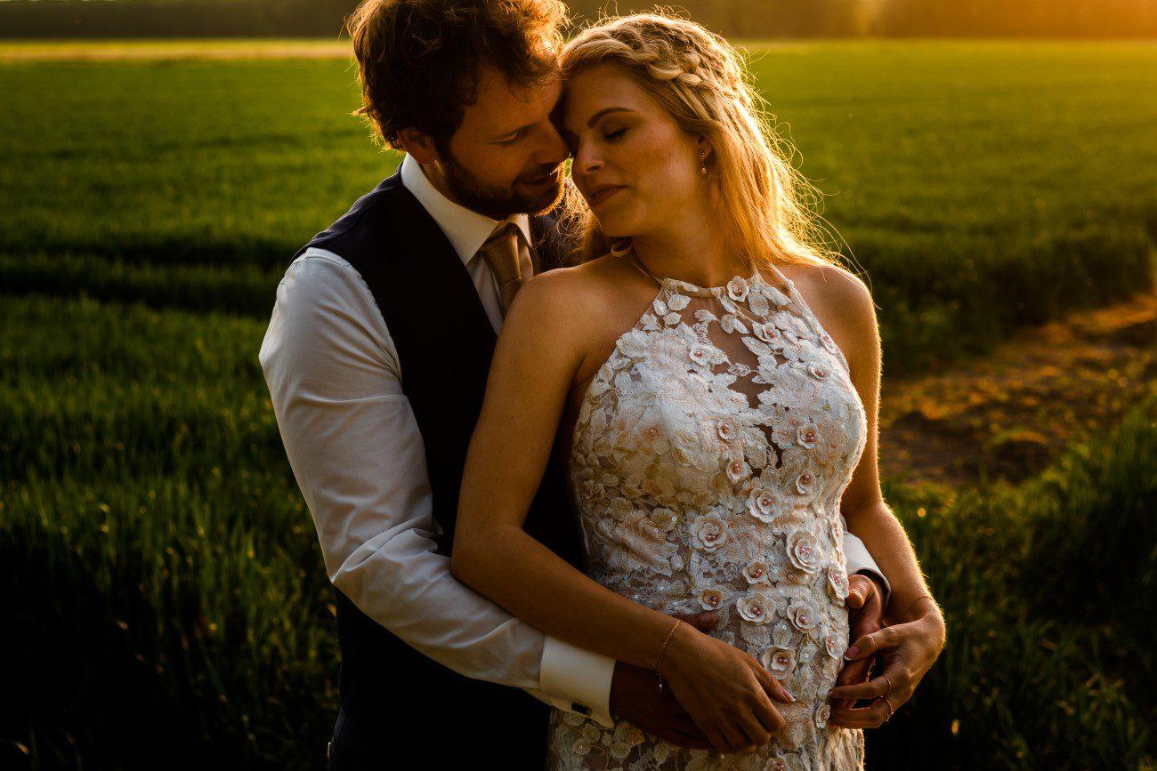 Bruiloft bruidsfotograaf Boerderij Leeuwendaal Purmerend